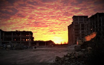 A post-apocalyptic scene from a Will Smith blockbuster?
